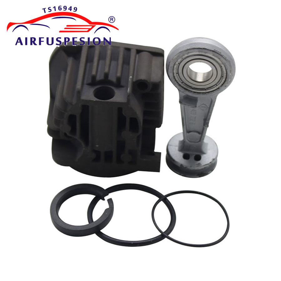 Voor VW Touareg Cayenne A6 C6 Q7 Luchtcompressor Pomp Cilinderkop Zuigerveer Drijfstang Valve Repair kit 4L0698007A