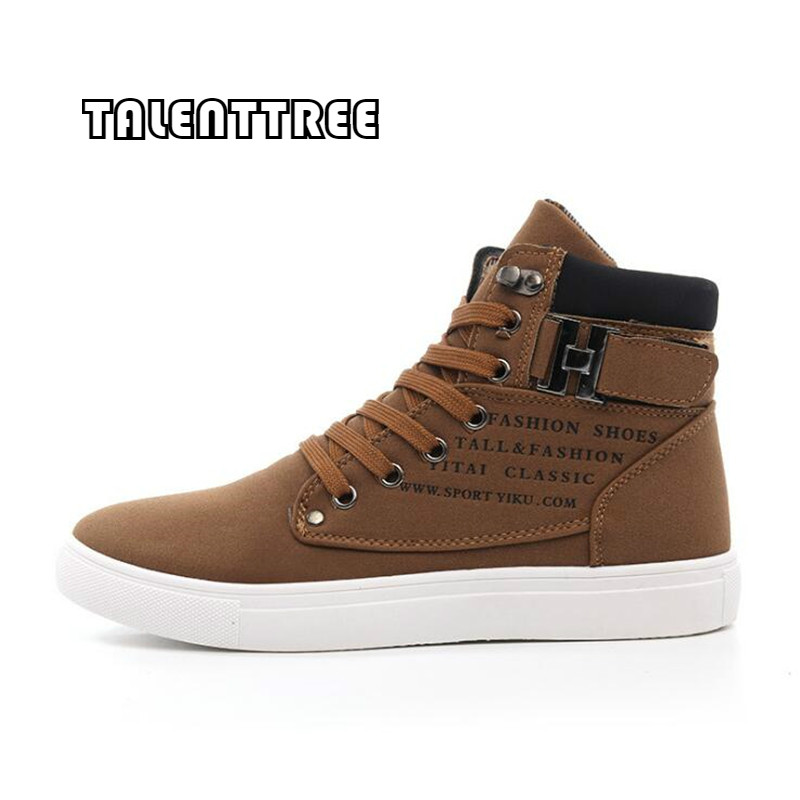 2018 Hot Men Shoes Fashion Warm Fur Winter Men Boots Autumn Leather Footwear For Man New High Top Canvas Casual Shoes Men Tenis 2016 new winter men s casual shoes boat shoes for men black brown fur shoes lazy autumn large size shoes warm men in stock