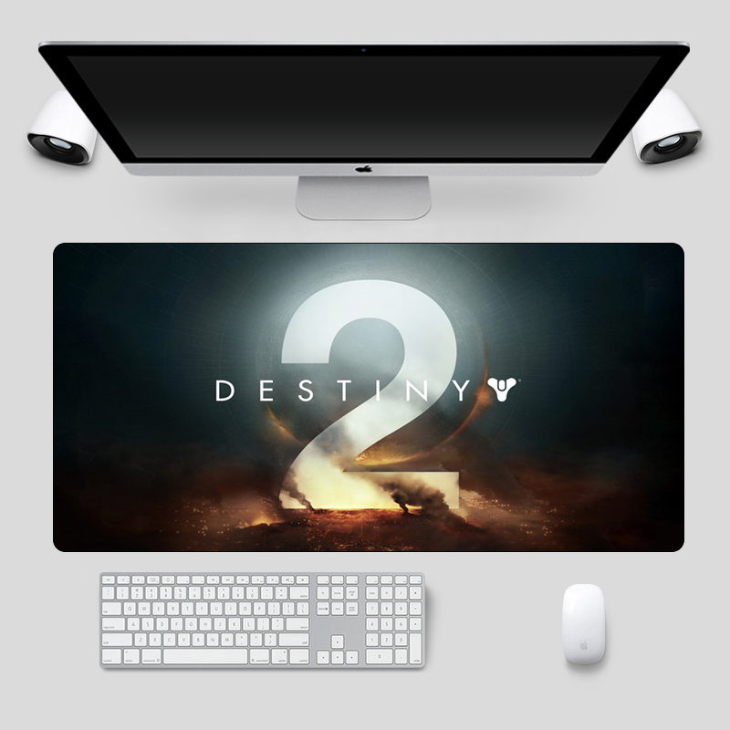 60x30cm Destiny 2 Gaming Mousepad Rubber Mouse Gamer Locking Edge Large Mouse Pad Non-Skid Keyboard Laptop Notebook Desk Mat