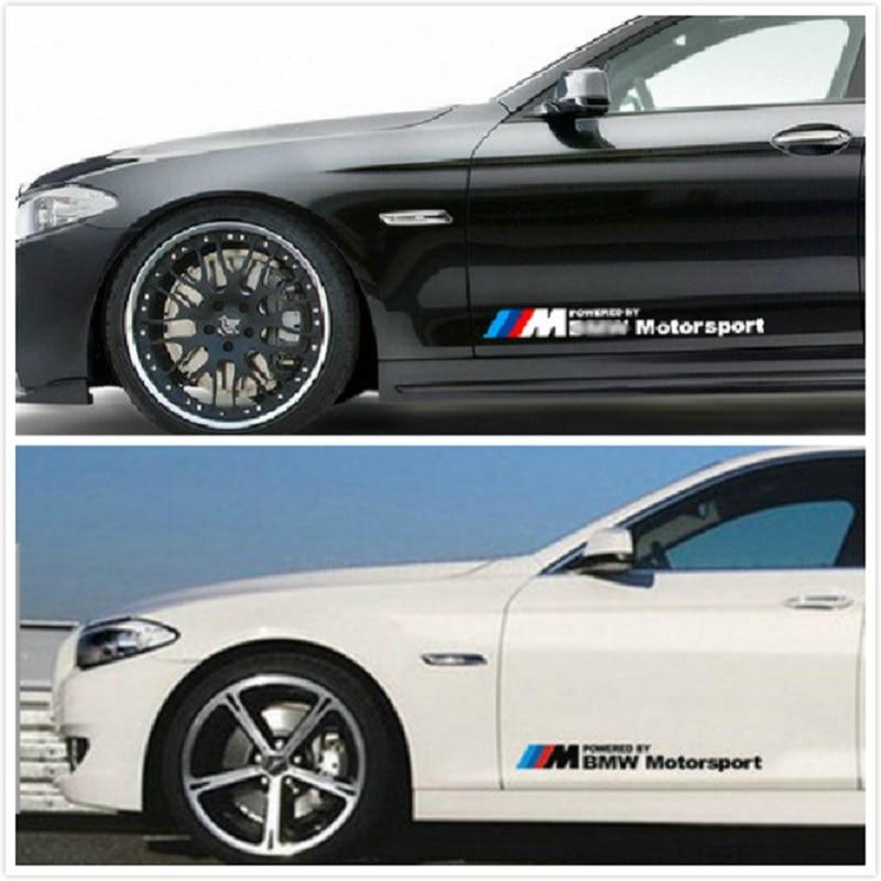 1pcs Motorsport Letter Sticker Car Body Exterior Sticker Modification For BMW 2016 2017 2018 2019 Models Car Stickers Accessoris
