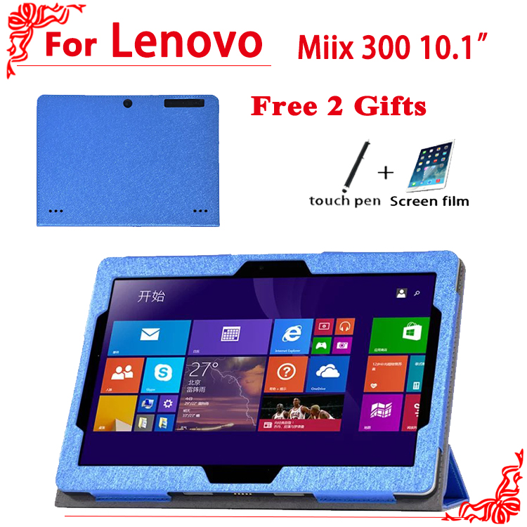 PU Protective Shell/Skin protective Leather Case For lenovo miiX 300 10IYB Tablet PC dormancy case 10.1'' +free 2 gifts seed dormancy and germination