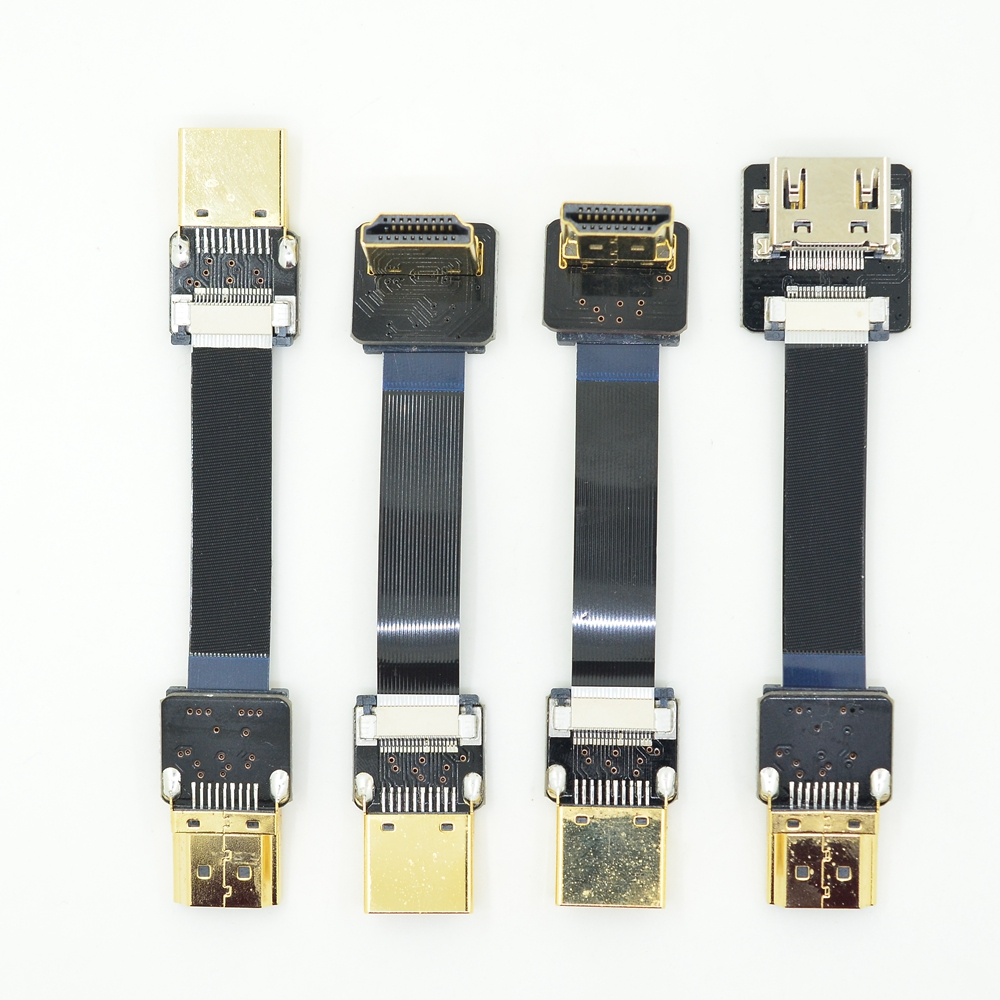 Standard HDMI FUll Normal HDMI to Standard HDMI Up Down Angled FPV Accessories for RED blackmagic