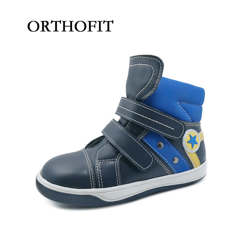 New Design Hard Sole Children Sport Shoes Orthopedic Running Shoes Kids Arch Support Sneakers Boys Casual Shoes kelme 2016 new children sport running shoes football boots synthetic leather broken nail kids skid wearable shoes breathable 49