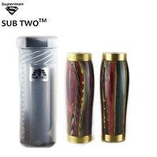 Dark Knight vase mod with resin tube vapor pen smoke cigarette kit mechanical mod 18650 Mods Vape pen Kits electronic cigarettes