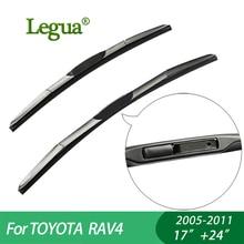 цены на 1 set Wiper blades For TOYOTA RAV4 (2005-2011), 17