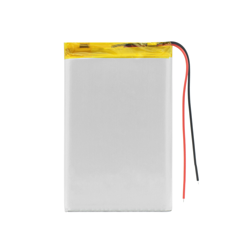606090 3 7V 4500mAh Lipo li ion Lithium Battery Replacement Li Po Lithium Li polymer Battery Replacement For Tablet DVD E book in Replacement Batteries from Consumer Electronics