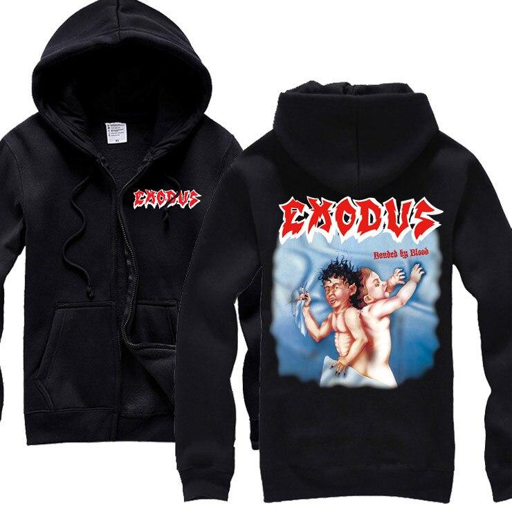 15 видов ужасный Exodus sudadera рок хлопок толстовки оболочка куртка панк рокерский спортивный костюм тяжелая металлическая брэндовая одежда, спортивные футболки - Цвет: 5