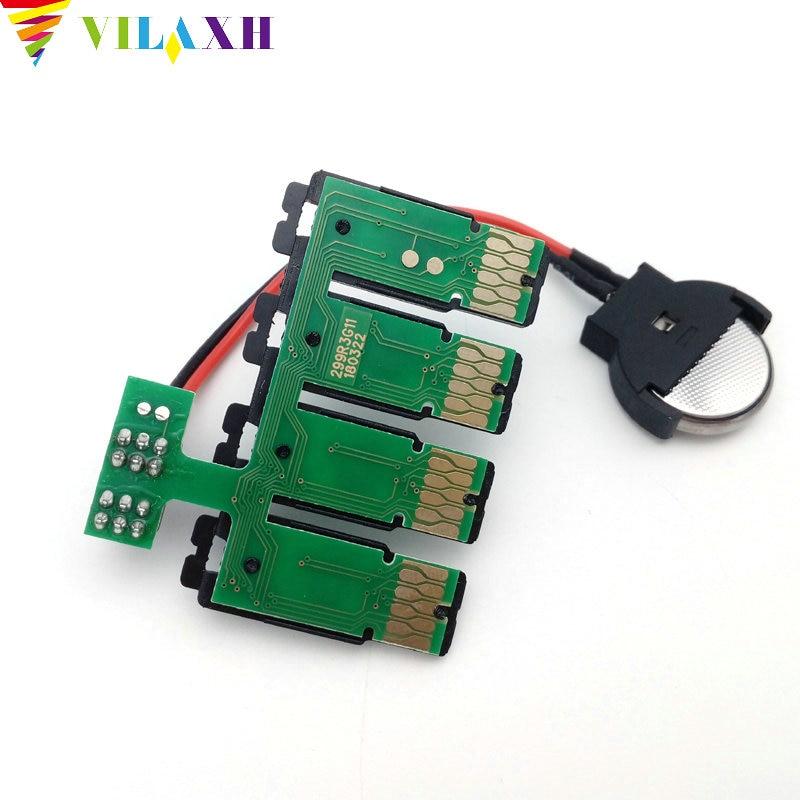 US $15 27 9% OFF Vilaxh T299 T2991 ciss cartridge arc auto reset chip for  epson xp 235 xp 245 xp 247 xp332 xp 335 xp 432 xp 435 printer chip-in