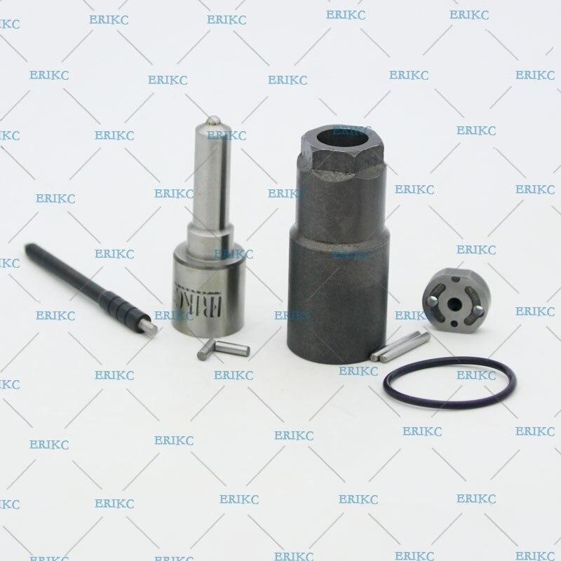 ERIKC 095000-8290 kits de réparation de révision d'injecteur de carburant buse DLLA155P863 (093400-8630) plaque de soupape pour Toyota Hiace Hilux