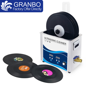 Image 5 - New Vinyl Record Washer 6.5L Bath 180W 110V/220V Ultrasonic Cleaner Gramophone LP Disc Album Cleaning With Power Supply Lifter