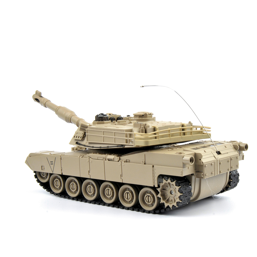 Image 4 - 1/28 RC Tank Remote Control Toys Battle RC Tank M1A2 Automatic Presentation Tanks Via Musical scal Toys For Boys Xmas Gifts-in RC Tanks from Toys & Hobbies