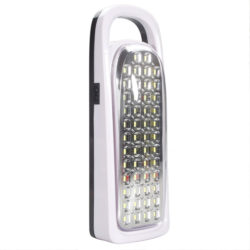 Lumiparty New Rechargeable 50 LEDs Portable Emergency Light Super Bright Torch Flashlight for Home Outdoor Camping Lighting lumiparty outdoor portable flashlight mini plastic hand power emergency lights generation environment friendly torch lamp