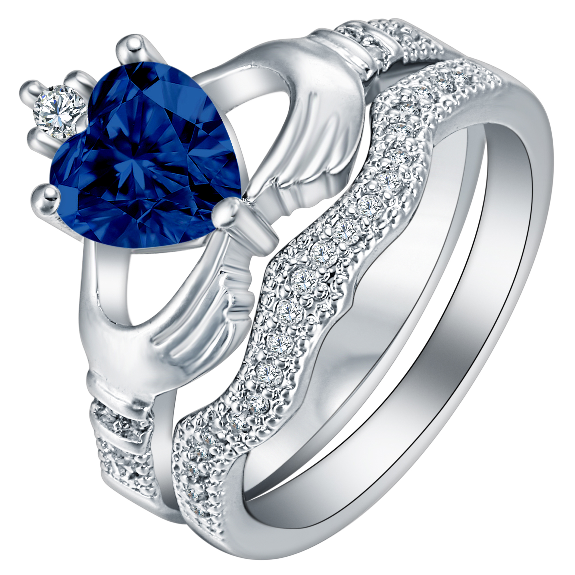 diamond platinum cushion sapphire setting saphire cut gia ring appraisal rings royal natural blue g certified tcw