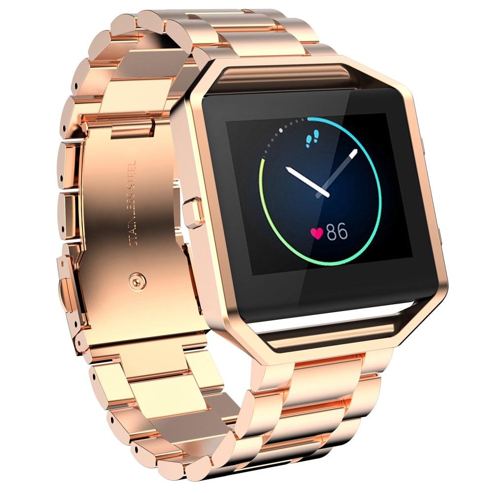где купить NEW Stailess Steel Bracelet Strap Watch Band For Fitbit Blaze Smart Watch More comfortable Brand NEW #0429 по лучшей цене
