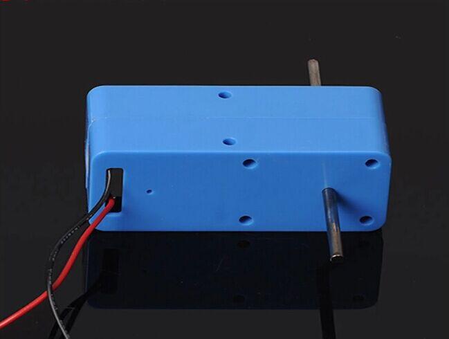 Dc1.5-6v 1 : 94 Mini eléctrico reducción Gear Box DC Gear Motor salida Biaxial para DIY Robot del Motor del coche piezas de juguetes envío gratuito rusia