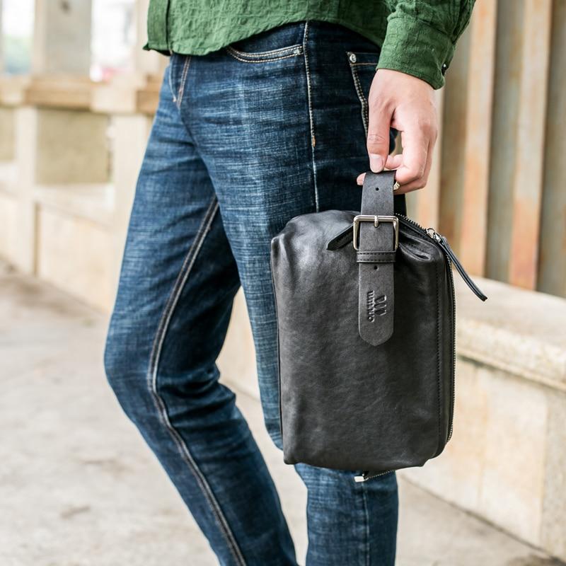 Wmnuo Μάρκα Ανδρών τσάντα χειρός τσάντα - Τσάντες - Φωτογραφία 6