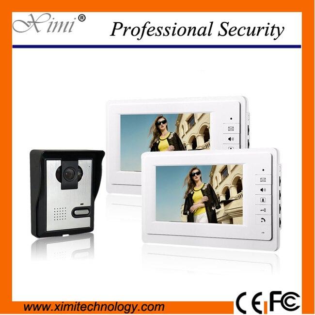 ⑤Buena calidad 420TVL 6 unids ir cámaras manos libres videoportero ...