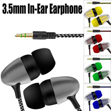 Earphones In-Ear Universal 3.5mm In-Ear Stereo Earbuds For Cell Phone