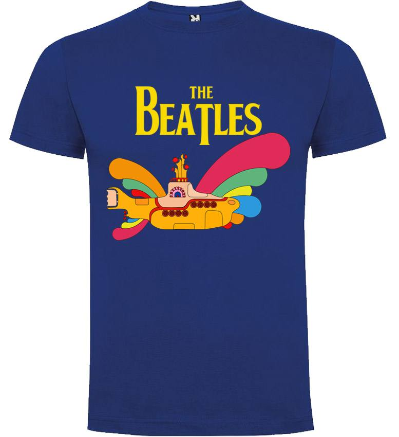 US $21 52 |The Beatles lyrics Yellow Submarine T shirt Manga Corta-in  T-Shirts from Men's Clothing on Aliexpress com | Alibaba Group