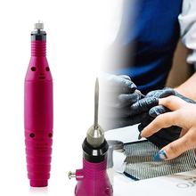 Polish Pen Shape Electric Nail Drill Machine Art Salon Manicure File Tool