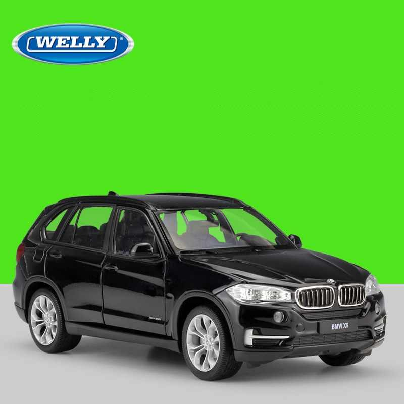 1:24 Welly BMW X5 SUV Diecast Model Car