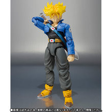 Original Tronco de Dragon ball Z Dragonball figura de Ação Brinquedos BJD 14 cm(China)