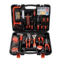 100pcs Household Tool Set Hardware Toolbox Electrical Woodworking Maintenance Manual Tool Set Plumbing Tools