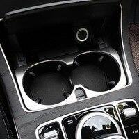 Cup holder trim For Mercedes w213 amg Mercedes w205 amg/glc x253 coupe amg mercedes c class accessories w205 interior trim