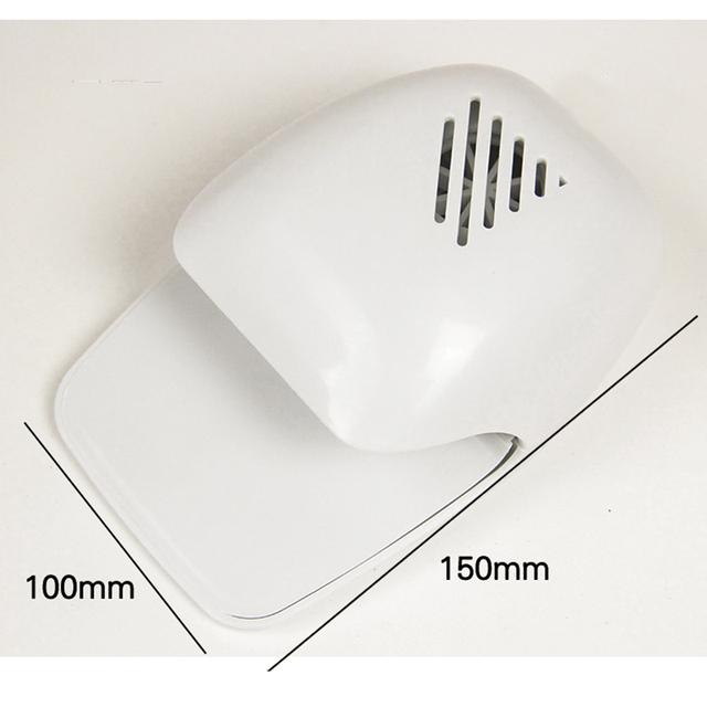 Nail Dryer Fashion Air Drying Mini White Portable Nail Art Polish Hand Finger Toe Varnish Dryer Powered by Batteries