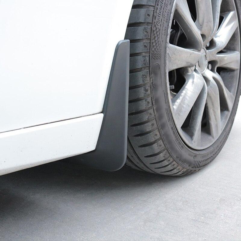QHCP 4 шт./компл. инженерный пластиковый автомобиль splash Брызговики Авто Передняя тыльная грязь щиток Брызговики специально для Lexus IS200T 250 300