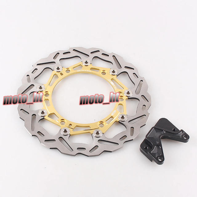 Arashi Brand Front Brake Disc Rotor w/ Bracket for Honda FORZA 250 2008 2009 2010