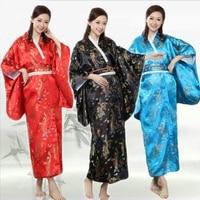 Japanese kimono traditional dress kimonos woman 2018 obi haori geisha costume traditional japanese kimonos cosplay AA4222