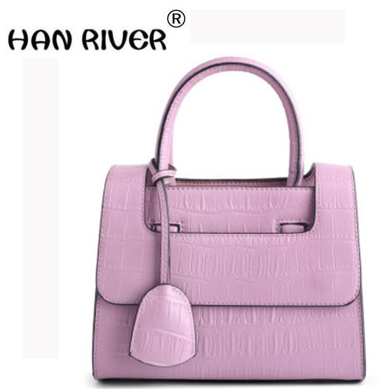 The new 2018 quality shell bag hand the bill of lading shoulder bag euramerican fashion leisure female bag Fashion style fasiqi crocodile the female bag chain of the chain pig bao star in the style of 2016 new fashion single shoulder slanting mini
