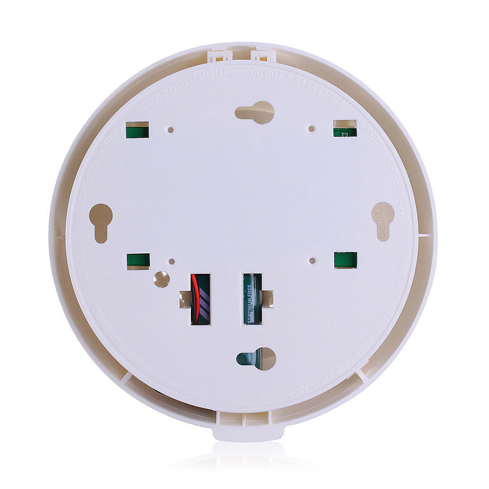 5 Packs Combination Carbon Monoxide and Smoke Alarm Battery Operate CO and Smoke Detector