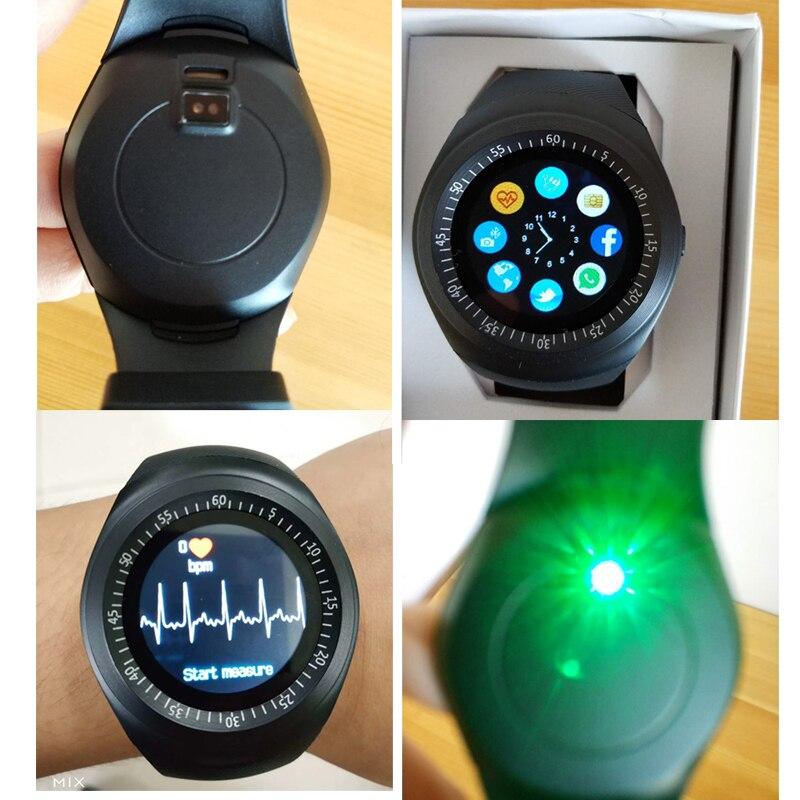 Купить с кэшбэком KESHUYOU Y1 plus android Smart Watch Men/Women Smart Watch Kids Smartwatch Android Sim Card Smart Clock  Heart Rate monitor