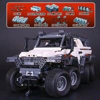 23011 legoinglys Technic Series Off road vehicle Model Building Kits Block Bricks Compatible Educational Boy Toys