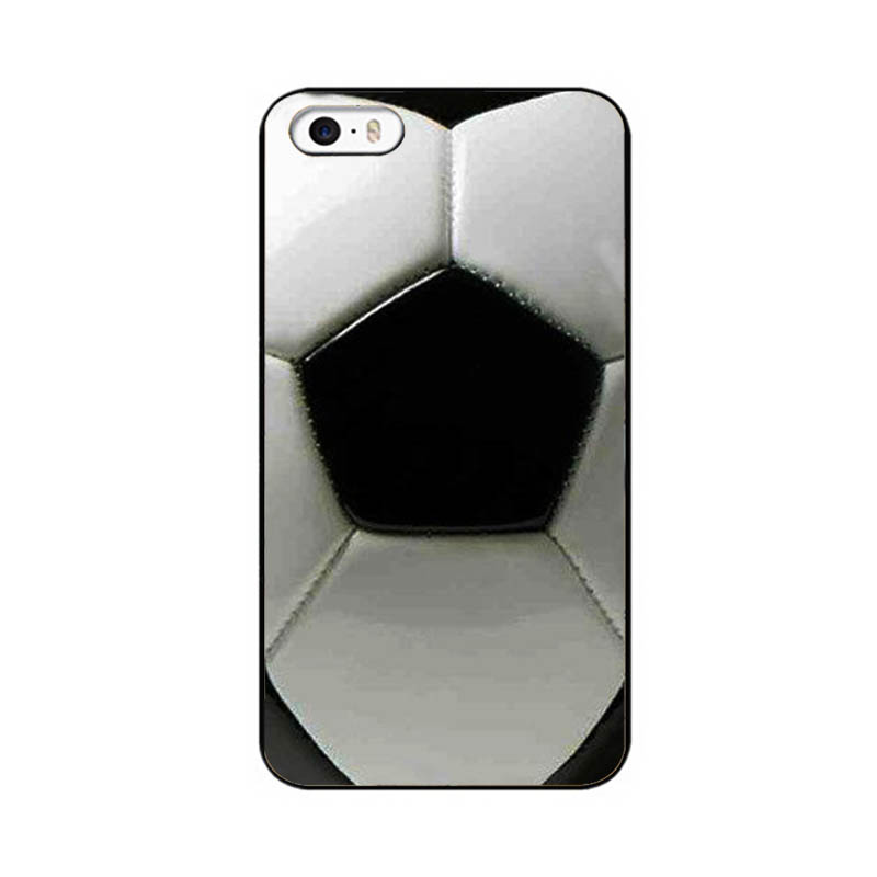 Soccer football style Hard UV Phone Back Protector Case for Iphone 4 4s