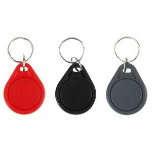 Image 5 - 100 قطعة تتفاعل keyfobs 13.56 MHz سلاسل المفاتيح بطاقات شعارات nfc ISO14443A MF Classic® 1k nfc التحكم في الوصول رمز البطاقة الذكية ستة ألوان