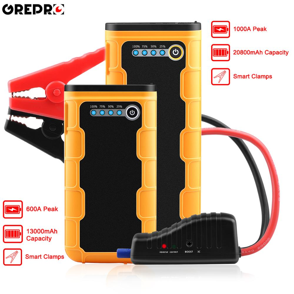 20800mAh Car Jump Starter 1000A Portable 12V External Car Battery Multi function Vehicle Emergency Battery Booster Power Bank-in Jump Starter from Automobiles & Motorcycles