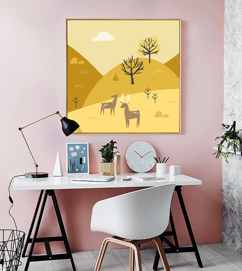 Aliexpress.com : Buy Minimalist Nordic Modular Canvas Painting ...