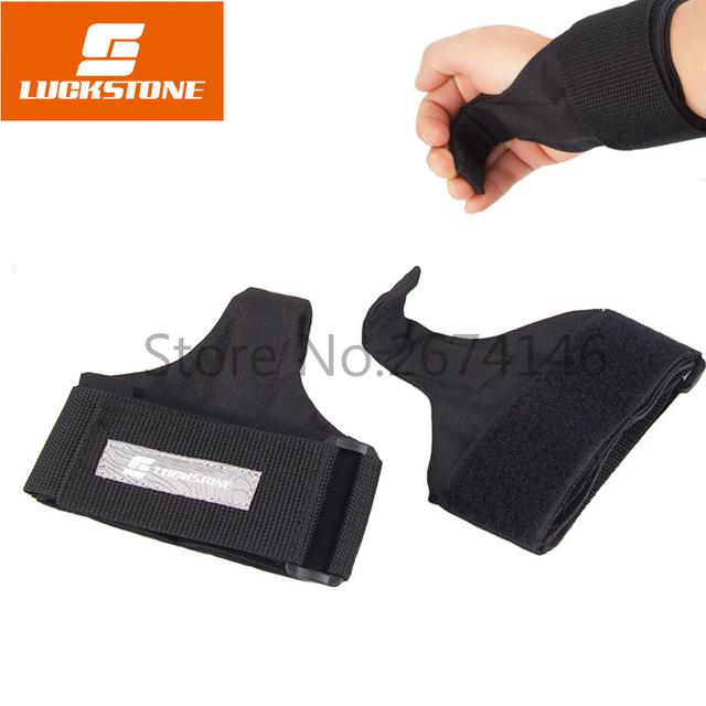 LUCKSTONE Professional Fitness Weight Lifting Hook Dumbbell Wrist - Weight lifting floor pads