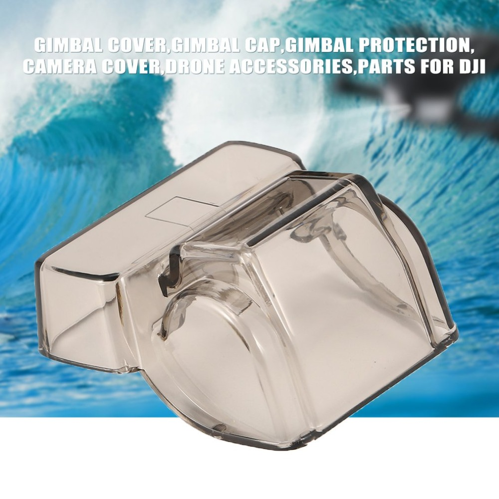 Gimbal Camera Protective Cover Lens Cap For DJI SPARK Gimbal Lock Guard For DJI PRO Drone Accessories 3D Sensor Screen Protector