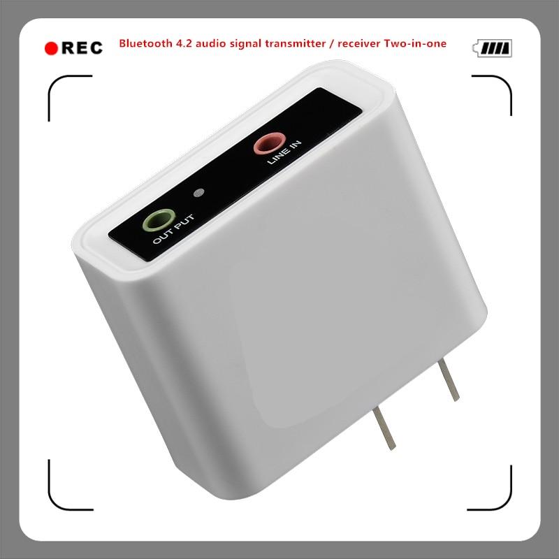 2b1 Bluetooth 4,2 Audio Signal Sender/empfänger Zwei-in-one Combo Bluetooth Wireless Audio Adapter Zahlreich In Vielfalt Funkadapter Unterhaltungselektronik