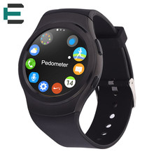 MTK2502C IP65 Water proof Bluetooth Smart wrist Watch support SIM heart rate monitor For Android IOS