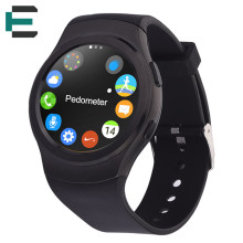 MTK2502C IP65 Water proof Bluetooth Smart wrist Watch support SIM heart rate monitor For Android IOS phone PK DM09 KW18 G4 U8
