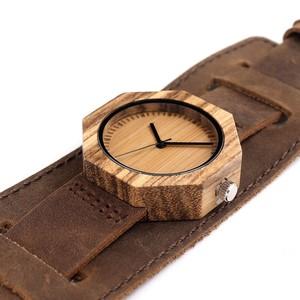 Image 2 - BOBO BIRD ماركة الساعات النساء اليابان حركة زيبرا الخشب ساعة كوارتز فاخرة الخشب السيدات ساعة Relogio Masculino هدية صندوق C D02