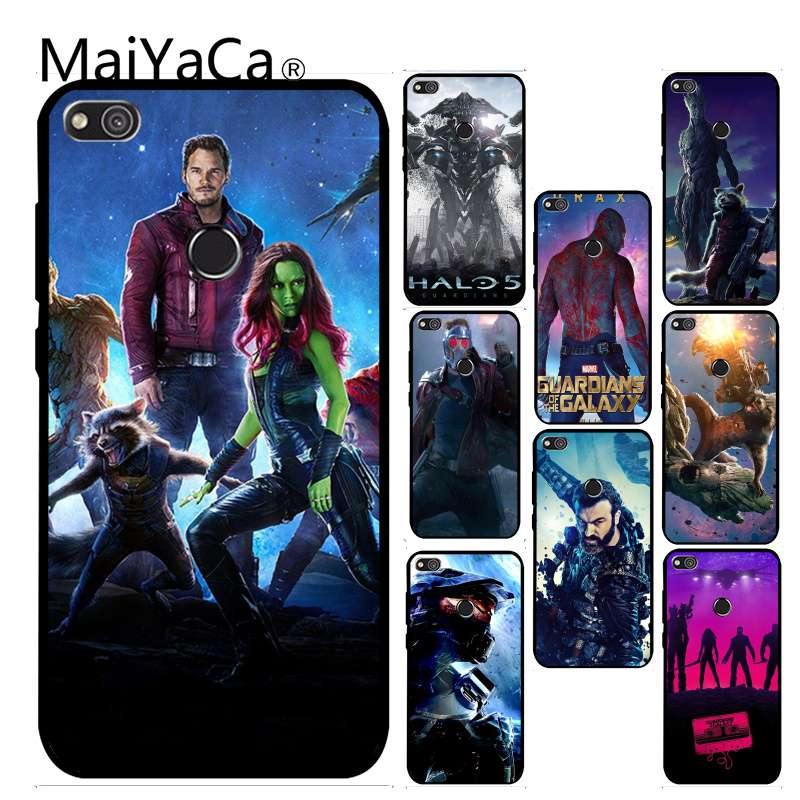 MaiYaCa Guardians of the Galaxy lovely Phone Accessories Case For Huawei P6 P7 P8 P9 P10 Mobile Phone Cover