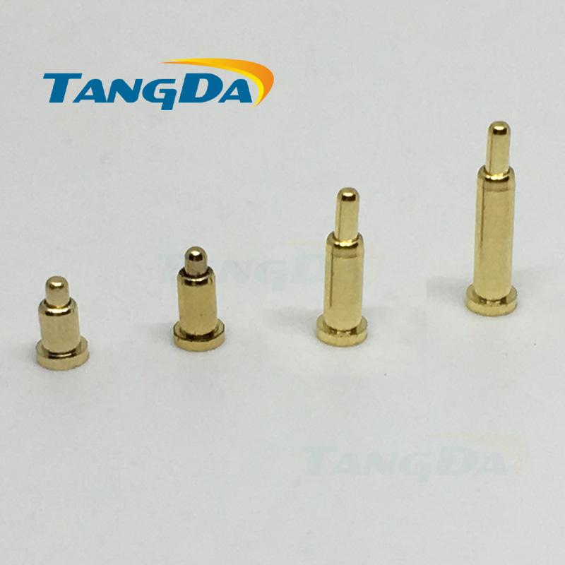 цена на pogo pin connector pogopin Battery spring Loaded Contact SMD needle PCB 2*3 4 5 6 7 8 9 10 Test Probes Gold-plated copper power