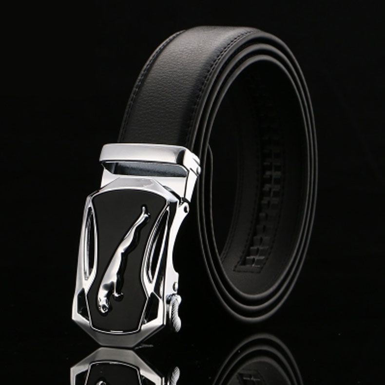 2019 Fashion Brand Leather Belts Men  Business Trouser Strap Homme Cowskin Automatic Buckle Cowhide Ceinture Men Belts