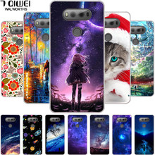 For LG V20 Case Phone Cover Soft Silicone Back Cases For LG V20 LGV20 Coque TPU Bag F800 H990ds F800L V 20 Fashion Funda Bags(China)